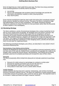 Sample Business Proposal Template Boutique Business Plan Business Plan Template Business