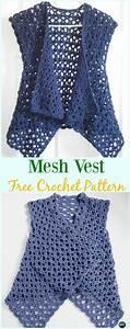 crochet vest free patterns summer sweater