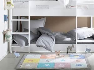 Tapis Chambre Bébé Fille : des tapis pour une chambre d 39 enfant joli place ~ Teatrodelosmanantiales.com Idées de Décoration