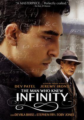man  knew infinity   rent  dvd  blu
