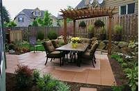 magnificent small patio landscape design ideas 53 Best Backyard Landscaping Designs For Any Size And ...