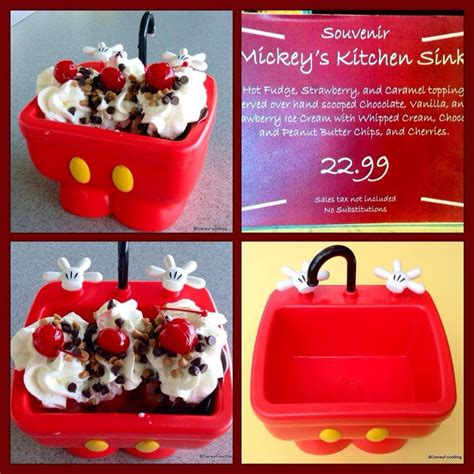kitchen sink disneyland walt disney world quot kitchen sink quot dessert food disney