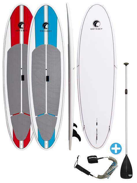 odyssey surf 10ft 6in epoxy stand up paddle board sup deck