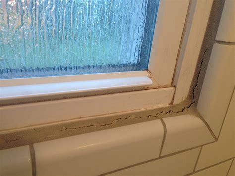 caulk  fix cracking grout   shower