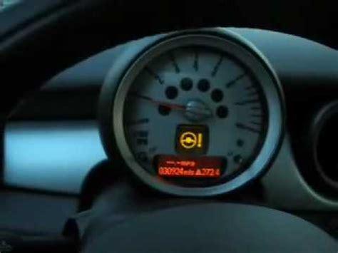 mini catalytic converter warning light mini steering wheel lock up problem youtube