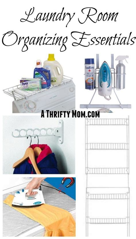 Laundry Room Organizing Essentials  Easy Ways To Organize