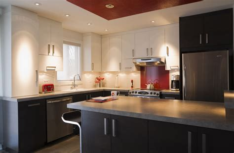 Kitchen Ceiling Lighting For General And Work Areas