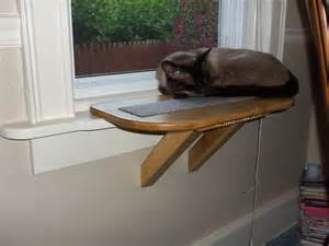cat perch perch cat window seat bed bench scratching pad wooden