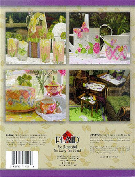 One Stroke A Summer Garden, Donna Dewberry Book Brushes