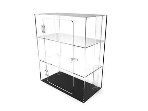 Clear Plexiglass Acrylic Cabinet Display Case 4jewelry