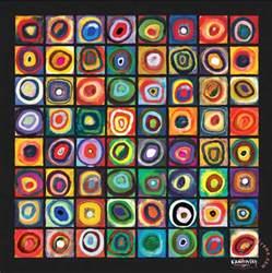 Kandinsky Famous Paintings Squares
