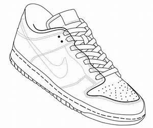 Thebrownfaminaz  Nike Shoe Template