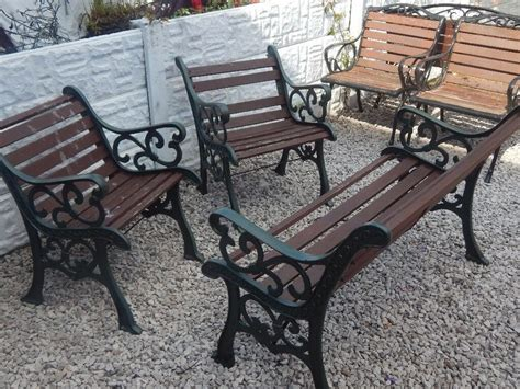 cast iron bench ends garden furniture outdoor
