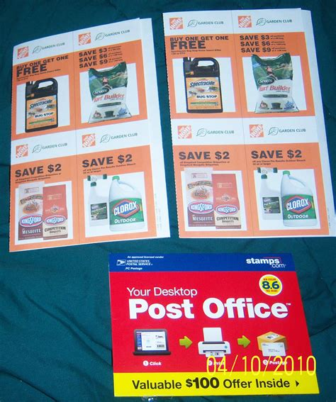 Post Office Coupons Home Depot by Home Depot Etc