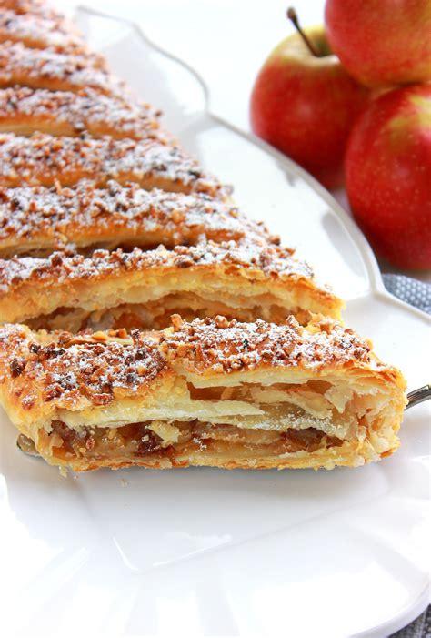 apfelstrudel strudel aux pommes quot les gourmandises de amela quot