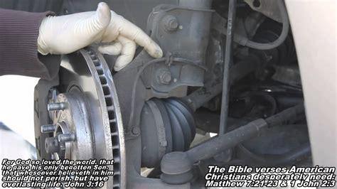 abs wheel speed sensor remove replace   nissan