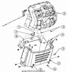 Mtd 13wn77ss031  Lt4200   2017  Parts Diagram For Dash