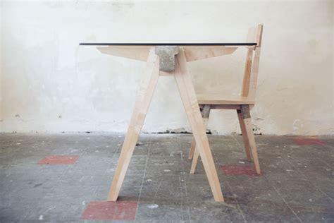 bureau verre et bois beam desk 2 0 le bureau bois béton verre studio temper
