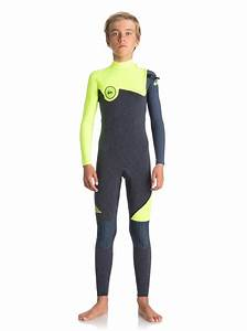 Rip Curl Top Size Chart 4 3mm Highline Series Zipperless Wetsuit For Boys 8 16