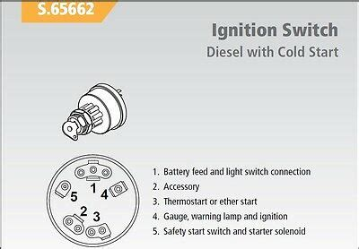 Ignition Switch Wiring Diagram Ford Tractor by Ford Tractor Ignition Switch 530 531 532 535 540 545 550