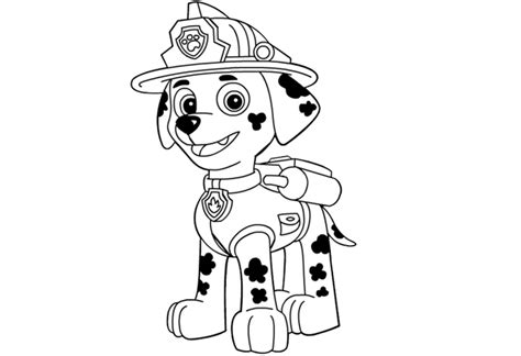 imagenes  dibujos de paw patrol  imprimir  colorear material  maestros planeaciones