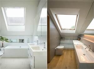 Amenagement de combles 60 idees pour chaque piece for Meubles pour sous combles 9 comment amenager une salle de bain 4m2