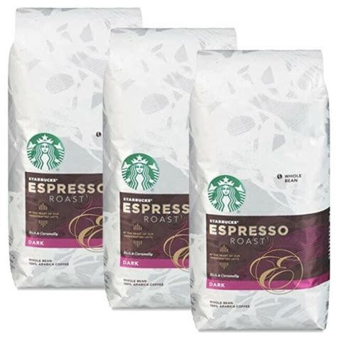 Chat with sellers and buy at bargain prices. Starbucks Espresso Dark Roast Whole Bean Coffee 20 Ounce for sale online   eBay