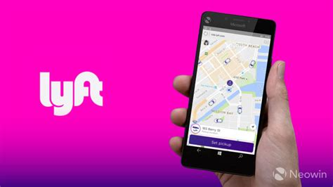 Lyft Ride-sharing Service Comes To Windows 10 Phones And