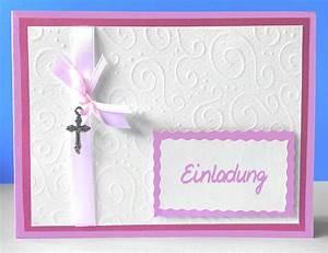 Einladung Selber Machen : einladungskarten taufe einladungskarten taufe basteln anleitung einladungskarten ~ Orissabook.com Haus und Dekorationen