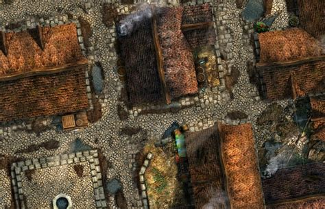 Tile City by Cities Of The Black Scrolls Modular Map Tile Sets By