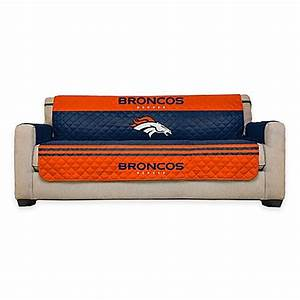 buy nfl denver broncos sofa cover from bed bath beyond With nfl furniture covers
