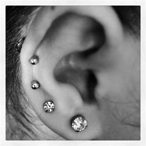 Multiple Ear Piercing On Tumblr