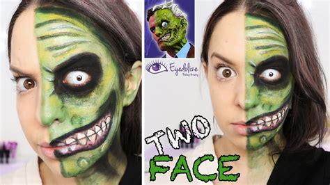 face batman green makeup tutorial  eyedolizemakeup youtube