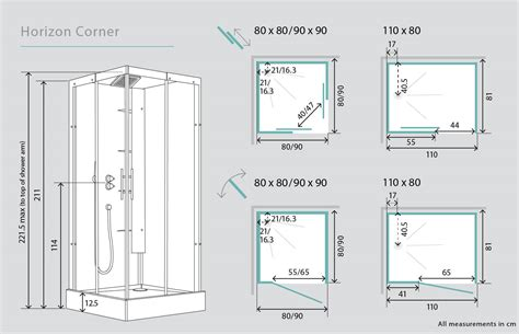 bathroom mirror with shelves kinedo horizon corner watertight pivot door shower cubicle
