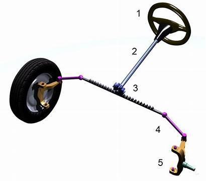 System Steering Steer Rack Pinion Kart Parts