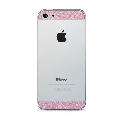 iphone 5 pink iphone 5 glam glitter screen protector skins pink
