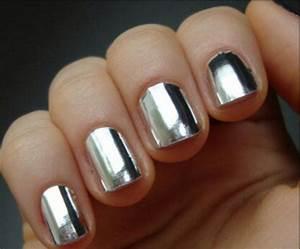 Nail polish: nails, amazing, colorful, nails, silver