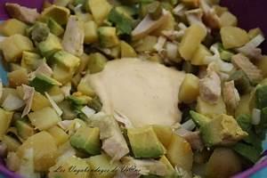 Salade Poulet Avocat : recette salade de poulet poummes de terre et avocat ~ Melissatoandfro.com Idées de Décoration