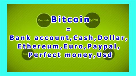 For this reason, they are able to perform a all the listed exchangers are able to buy a person's bitcoin in exchange for dollars in a paypal account 24 hours per day, 7 days a week, from. Bitcoin exchange to Bank account, Cash, us Dollars, Ethereum, Euro, Paypal, Perfect money, Usd ...