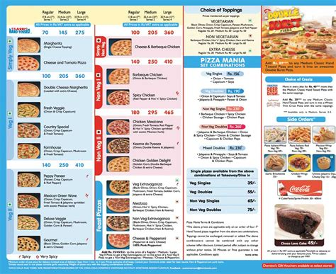image dominos menu punejpg dc universe rp wiki