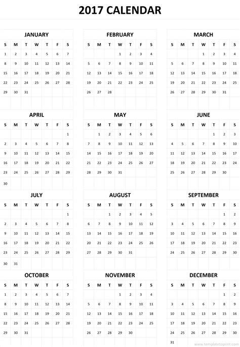 sheets calendar template 2017 2017 calendar one page yearly printable calendar