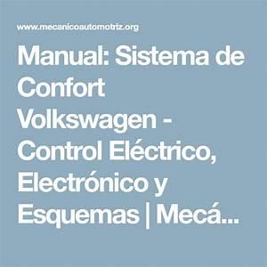 Manual  Sistema De Confort Volkswagen