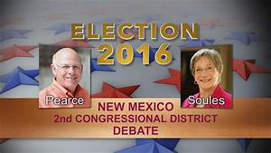 VIDEO: New Mexico 2nd Congressional District Debate   KRWG