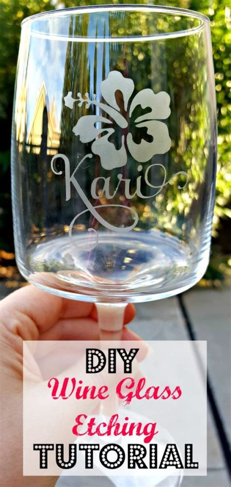 diy etched glass easy step  step tutorial leap