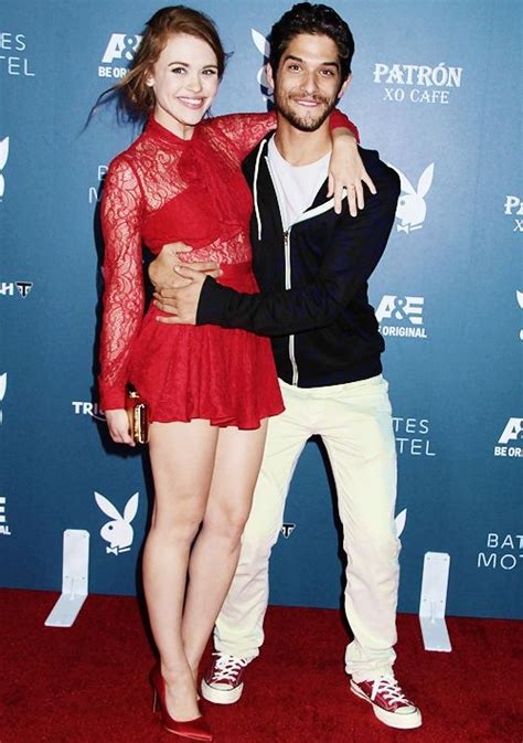 holland roden and tyler posey dating holland roden and tyler posey attend the playboy and a e