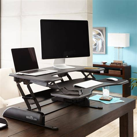Whereas a desk for work might selecting a desk that has adjustable legs will help if you are very tall or short, but you. Awesome Stand and Adjustable Computer Desk Designs ...