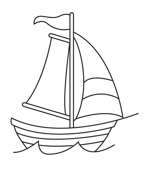 Boat Shape Drawing by Drawing Of A Ship How To Draw A Ship From The