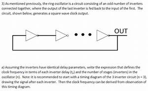 Solved  The Ring Oscillator Is A Circuit Consisting Of An