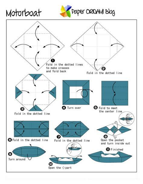 Origami Twin Boat Video by Fun Origami Motor Boat Paper Origami Guide