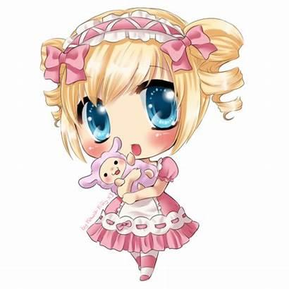 Kawaii Bunny Anime Ichigo Bonecas Fofas Chibi